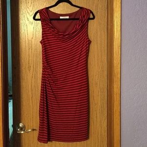 Loft brand midi-length dress